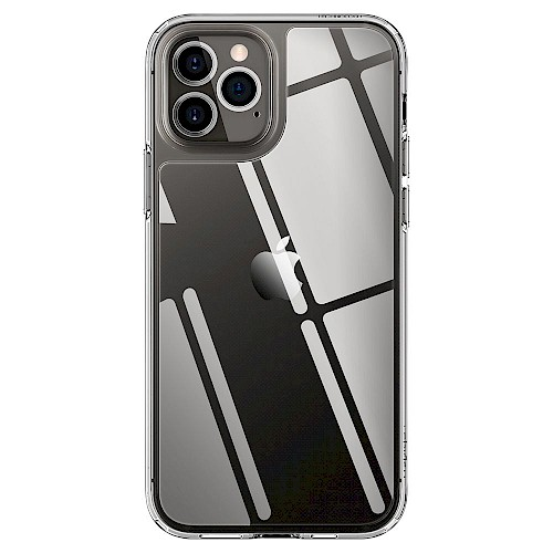 Spigen iPhone 12 Pro Max Case Quartz Hybrid Crystal Clear ACS01621
