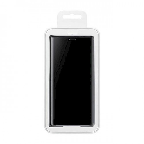 Clear View Standing Cover za Samsung S20 FE Crni