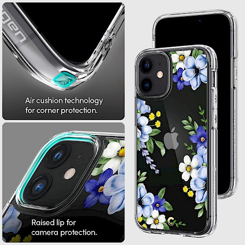 Spigen iPhone 12 Mini Case Cyrill Cecile Midnight Bloom ACS01832