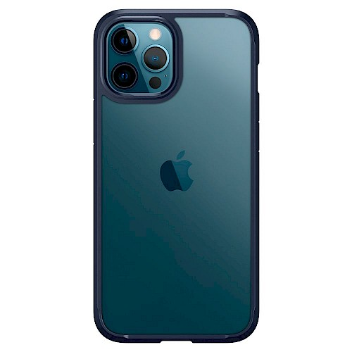 Spigen iPhone 12/12 Pro Case Ultra Hybrid Navy Blue ACS02251