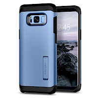 Spigen Galaxy S8 Plus Case Tough Armor Coral Blue 571CS21696