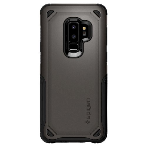 Spigen Galaxy S9 Plus Case Hybrid Armor Gunmetal 593CS22930