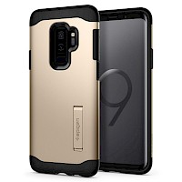 Spigen Galaxy S9 Case Slim Armor Maple Gold 592CS23185