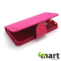 Preklopna futrola za S6 Edge Canvas Hot Pink