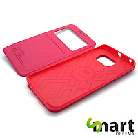 Preklopna futrola za Samsung S7 Window Hot Pink