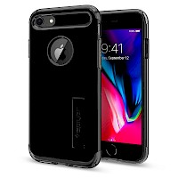 Spigen iPhone 7/8 Case Slim Armor Jet Black 042CS20842