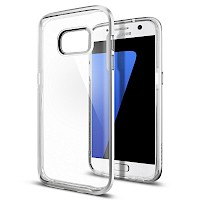 Spigen Galaxy S7 Case Neo Hybrid Crystal Satin Silver 555CS20021