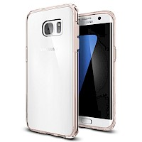 Spigen Galaxy S7 Edge Case Ultra Hybrid Rose Crystal 556CS20035