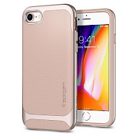 Spigen iPhone 7/8 Case Neo Hybrid Herringbone Pale Dogwood 054CS22202