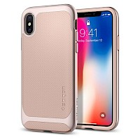 Spigen iPhone X Case Neo Hybrid Pale Dogwood 057CS22169