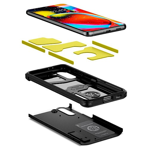 Spigen Samsung Galaxy S21 Case Tough Armor Black ACS02425