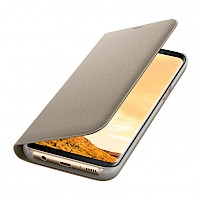 Led View Cover Samsung Galaxy S8 zlatni EF-NG950PFEGWW