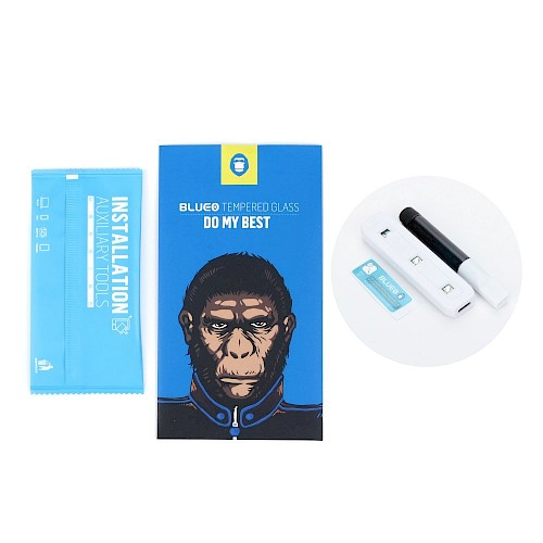 5D Mr. Monkey Glass Zaštitno staklo za ekran za Samsung S21 Plus (UV Glass)