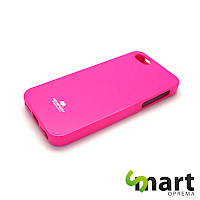 Silikonska maska za iPhone 5&SE Jelly Pink