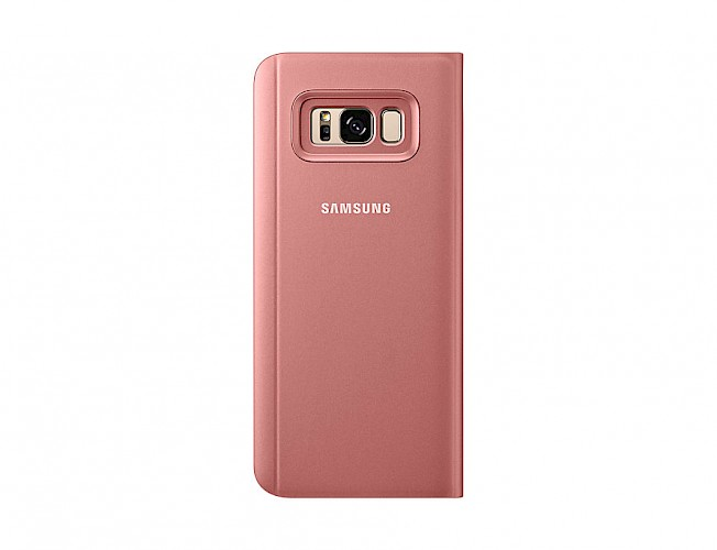 Clear View Standing Cover Samsung Galaxy S8 Plus pink EF-ZG955CPEGWW