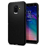 Spigen Samsung A6 2018 Case Liquid Air Black 596CS24093
