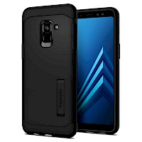 Spigen Galaxy A8 2018 Case Slim Armor Black 590CS22753