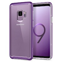 Spigen Galaxy S9 Case Neo Hybrid Crystal Lilac Purple 592CS23340