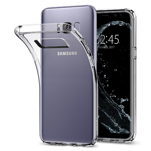 Spigen Galaxy S8 Plus Case Liquid Crystal Clear 571CS21664