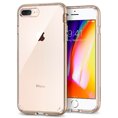 Spigen iPhone 7/8 Plus Case Neo Hybrid Crystal Champagne Gold 055CS22371