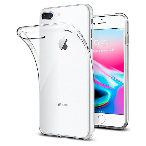 Spigen iPhone 7/8 Plus Case Liquid Crystal Clear 055CS22233