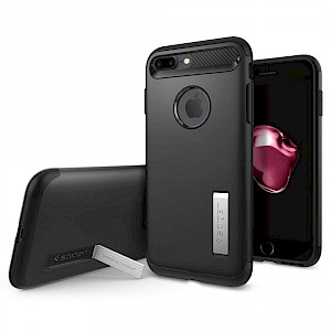 Spigen iPhone 7/8 Plus Case Slim Armor Black 043CS20648