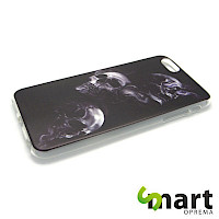 Silikonska maska za iPhone 6(s) PLUS Skulls