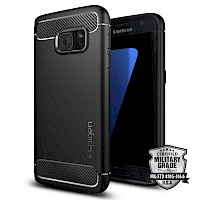 Spigen Galaxy S7 Case Rugged Armor Black