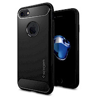 Spigen iPhone 7/8 Case Rugged Armor Black 042CS20441