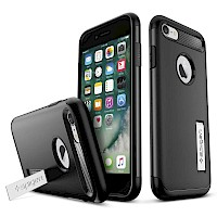Spigen iPhone 7/8 Case Slim Armor Black 042CS20647