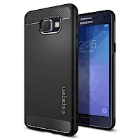 Spigen Galaxy A5 (2016) Rugged Armor Case Black