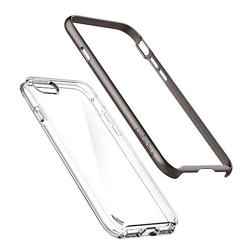 Spigen iPhone 7/8 Case Neo Hybrid Crystal Gunmetal 054CS22363