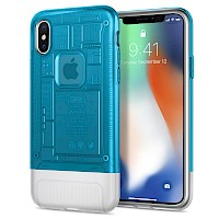 Spigen iPhone X Case 10th Anniversary Limited Edition Classic C1 Blueberry 057CS24432