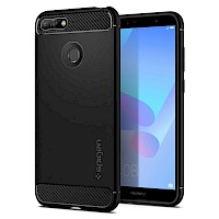 Spigen Huawei Y6 2018 Case Rugged Armor Black L30CS24128
