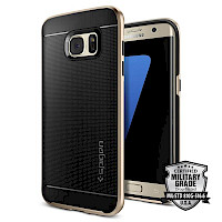 Spigen Galaxy S7 Edge Case Neo Hybrid Champagne Gold 556CS20203