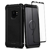 Spigen Galaxy S9 Case Pro Guard 360 Full Coverage Black 592CS22896