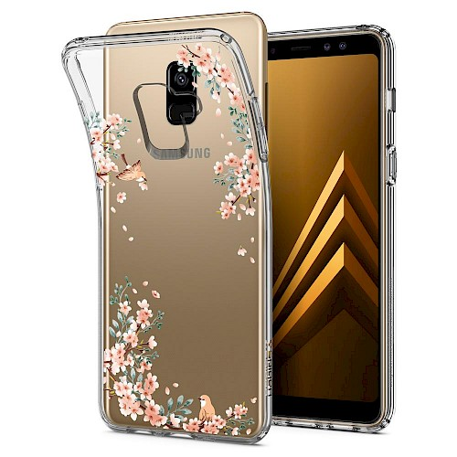 Spigen Galaxy A8 2018 Case Liquid Crystal Blossom Nature 590CS22750