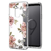 Spigen Galaxy S9 Case Liquid Crystal Blossom Flower 592CS22829