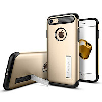 Spigen iPhone 7/8 Case Slim Armor Champagne Gold 042CS20302