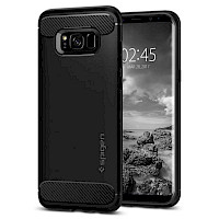 Spigen Galaxy S8 Case Rugged Armor Black