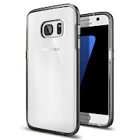 Spigen Galaxy S7 Case Neo Hybrid Crystal Gunmetal 555CS20022
