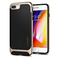 Spigen iPhone 7/8 Plus Case Neo Hybrid Champagne Gold Herringbone 055CS22231