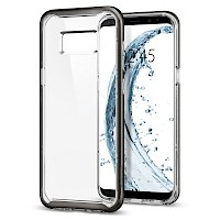 Spigen Galaxy S8 Case Neo Hybrid Crystal Gunmetal 565CS21602