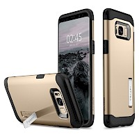 Spigen Galaxy S8 Case Slim Armor Gold Maple