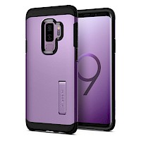 Spigen Galaxy S9 Plus Case Tough Armor Lilac Purple 593CS22936