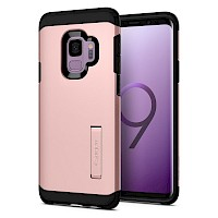 Spigen Galaxy S9 Case Tough Armor Rose Gold 592CS22847