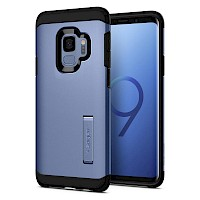 Spigen Galaxy S9 Case Tough Armor Coral Blue 592CS22850