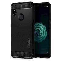 Spigen Xiaomi Mi A2/Mi 6X Case Rugged Armor Black S13CS24394